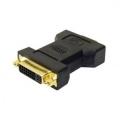 ADAPTADOR DVI-D MACHO PARA VGA FEMEA 24+1 DB15 LELONG SA-5024 / DEX DV-10M