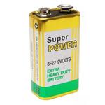BATERIA 9V COMUM BLISTER SUPER POWER