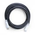 CABO HDMI 2.0 SUPORTA 3D E 4K 19PIN SEM MALHA BLINDADO 5 MTS COM FILTRO CBX-HX50SM EXBOM 2483