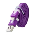 CABO DE DADOS USB LIGHTING IPHONE 1000MM 2.1 LE-827L ( SR2 )