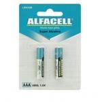 PILHA ALCALINA AAA LR03 1.5V CARTELA C/ 2 UN LR03/2B (SR03)