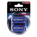 PILHA MEDIA C ALCALINA C/2 AM2-B2D SONY (SR 02)