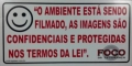 PLACA DE AVISO FOCO GRANDE (SR1-P0)
