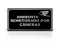 PLACA EM ALUMINIO AMBIENTE MONITORADO (20 X 10 CM) (SR1-P0)